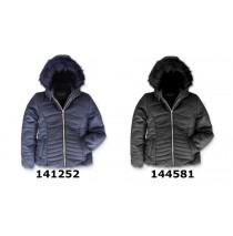144582 Purpose full teen girls jacket black (10 pcs)