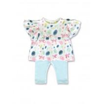 141294 Common ground baby girls set optical white+cool blue (8 pcs)