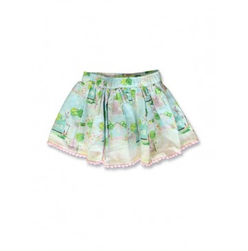 141314 Common ground baby girls skirt fairy tale+cool blue (8 pcs)