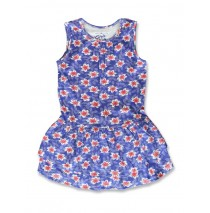 141321 In touch small girls dress surf the web+flash red (12 pcs)