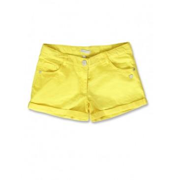 141399 Creative manifesto teen girls short blazing yellow (10 pcs)