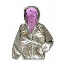141445 In touch small girls jacket silver (10 pcs)