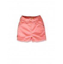141497 Creative manifesto baby girls short coral+blazing yellow (8 pcs)