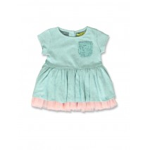 141513 In touch baby girls dress soothing sea+super pink (8 pcs)
