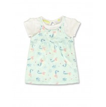 141514 In touch baby girls dress soothing sea+alaskan blue (8 pcs)