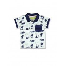 141569 In touch baby boys poloshirt optical white+soothing sea (8 pcs)