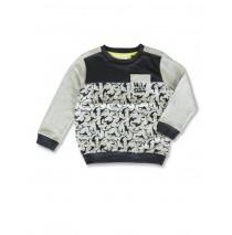 141573 Common ground small boys sweatshirt gray melange+light grey melange (12 pcs)
