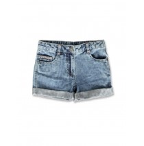 141574 Creative manifesto small girls denim short blue (10 pcs)