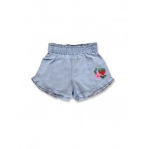 141611 In touch small girls short light blue (10 pcs)