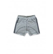 141715 In touch baby boys short optical white+medieval blue (8 pcs)