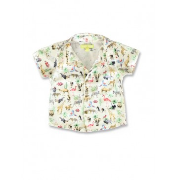 141730 Creative manifesto baby boys shirt beige+plein air (8 pcs)