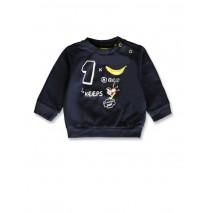141844 Creative manifesto baby boys sweatshirt blue nights+light grey (8 pcs)