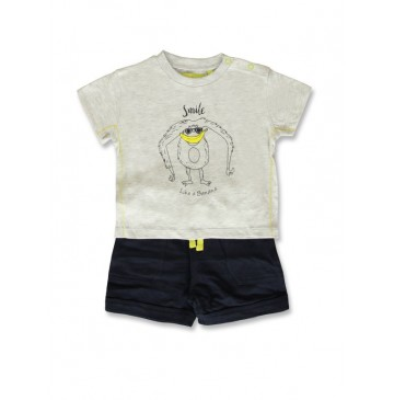 141852 Creative manifesto baby boys set light grey+blue nights (8 pcs)