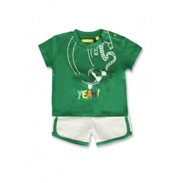 Creative manifesto baby boys set verdant green+alaskan blue (8 pcs)
