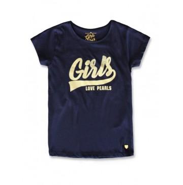 141859 Creative manifesto girls shirt medieval blue+optical white (12 pcs)