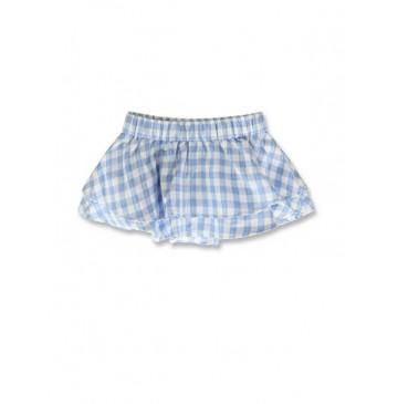 141875 Creative manifesto baby girls skirt light blue+black (8 pcs)