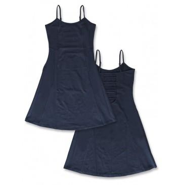 141928 Creative manifesto teen girls dress blue nights+light grey (12 pcs)