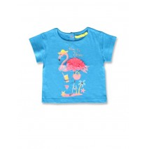 141931 Creative manifesto baby girls shirt blue aster+fairy tale (8 pcs)