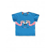 141932 Creative manifesto baby girls shirt blue aster+fairy tale (8 pcs)