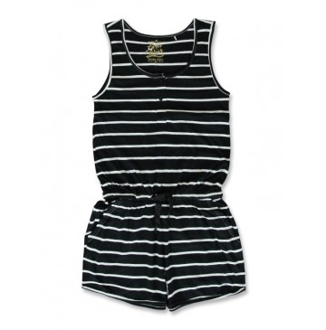 141933 In touch teen girls overall black+medieval blue (12 pcs)