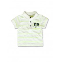 142015 Common ground baby boys poloshirt safety yellow+fiery coral (8 pcs)
