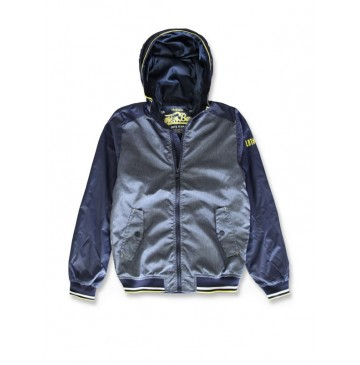 142031 Common ground teen boys jacket medieval blue (10 pcs)
