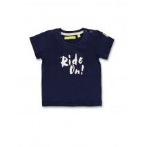142034 Common ground baby boys shirt medieval blue+light grey (8 pcs)