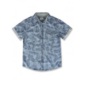 142143 In touch teen boys shirt blue denim (10 pcs)