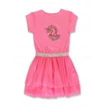 142196 Creative manifesto small girls dress pink lemonade (10 pcs)