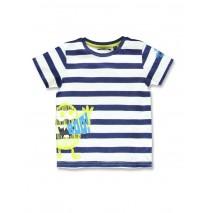 142256 Creative manifesto small boys shirt medieval blue+flash red (12 pcs)