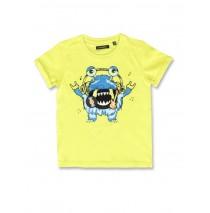142259 Creative manifesto small boys shirt sulphur spring+medieval blue (12 pcs)