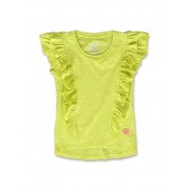 142310 In touch small girls shirt sulphur spring+pink lemonade (12 pcs)