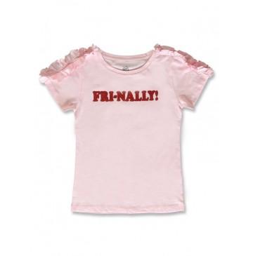 142315 Creative manifesto teen girls shirt fairy tale+optical white (12 pcs)