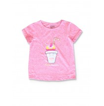 142401 Creative manifesto small girls shirt pink melange+latigo bay (12 pcs)