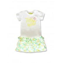 142422 Creative manifesto baby girls set optical white+pink (8 pcs)