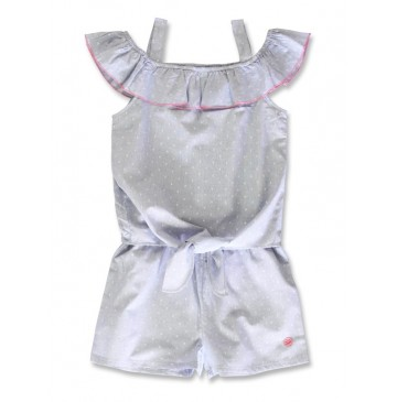 142458 In touch teen girls overall blue (10 pcs)