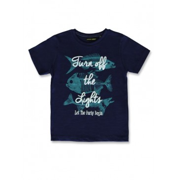 142469 In touch small boys shirt medieval blue+american beauty (12 pcs)