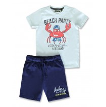 142476 In touch small boys set cool blue+grey melange (12 pcs)