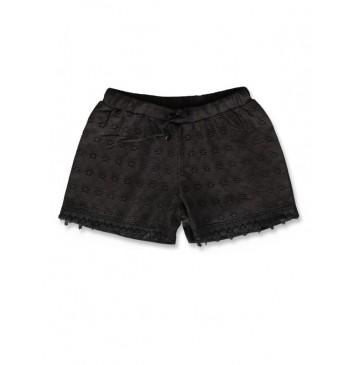 142487 In touch teen girls short black+optical white (12 pcs)