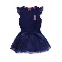 142598 Creative manifesto small girls dress medieval blue (10 pcs)