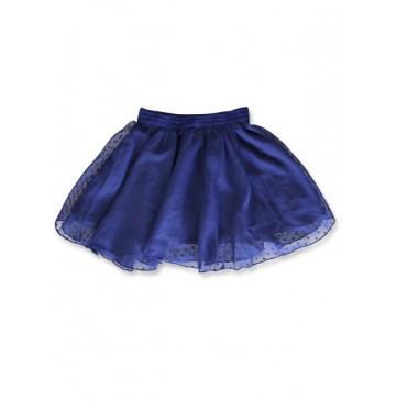 142610 Creative manifesto small girls skirt medieval blue (10 pcs)