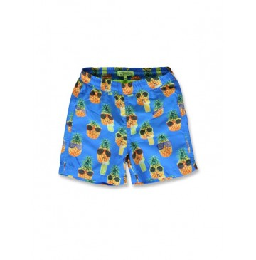 142631 In touch small boys swimwear blue aster+safety yellow (12 pcs)