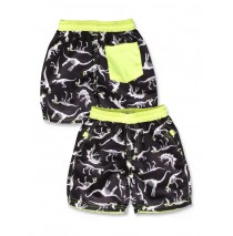 In touch small boys swimwear black+blue aster (12 pcs)