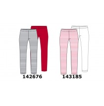 143185 In touch small girls two pack legging pink lemonade+optical white (10 pcs)