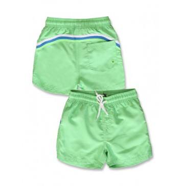 142713 In touch small boys swimwear summer green+safety yellow (12 pcs)
