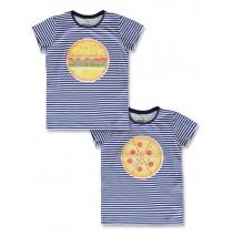 142723 Creative manifesto teen girls shirt surf the web+grey melange (12 pcs)