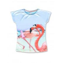 142758 Creative manifesto teen girls shirt fkamingo+cats (12 pcs)
