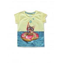 142759 Creative manifesto small girls shirt lemonade+desert flower (12 pcs)