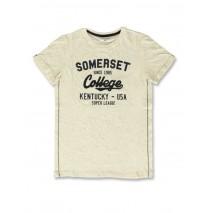 142764 Common ground teen boys shirt dark blue+blue aster speckle (12 pcs)
