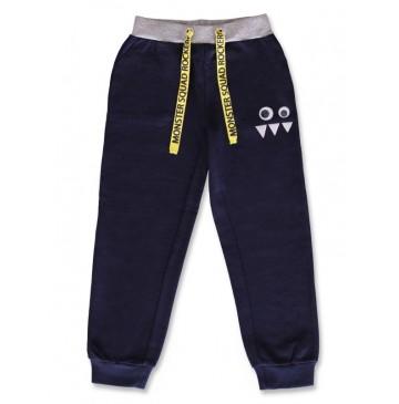 142803 Creative manifesto small boys jogging pant blue nights+grey (12 pcs)